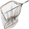 SavageGear Tele Folding Rubber Mesh Landing Net L