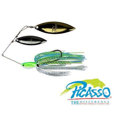 Picasso - Spinnerbait Double Willow INVIZ WIRE