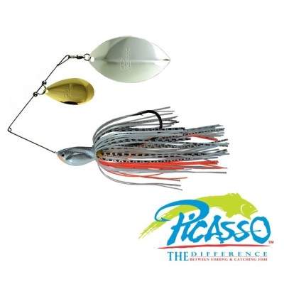 Picasso - Spinnerbait Tandem Thunder Willow INVIZ WIRE