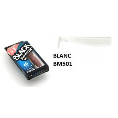 Fiiish - Black Minnow 70 SHAD BLANC