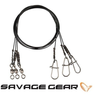 Savage Gear - Black7 Trace 40cm