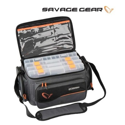 Savage Gear -  System Box Bag L