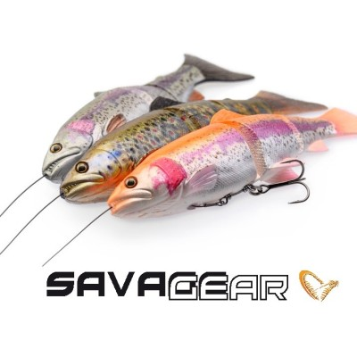Savage Gear 4D Line Thru Trout  20cm