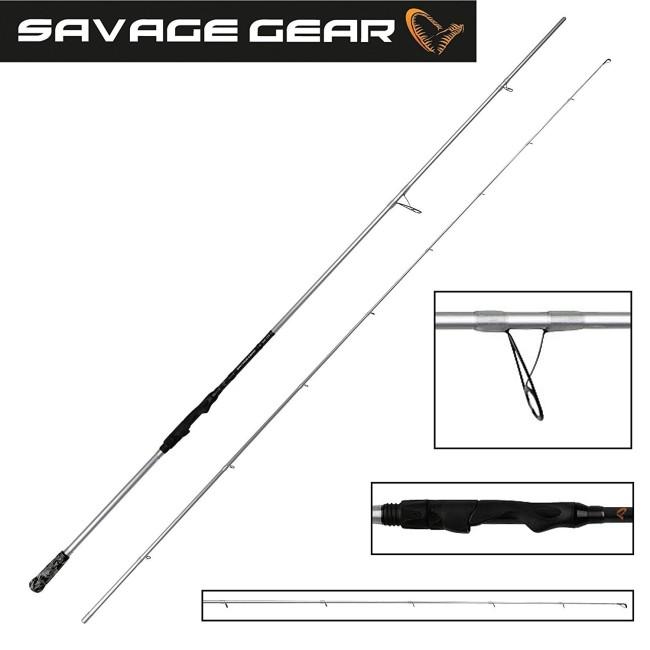 "Savage Gear Salt CCS 7'6"" 0 - 25 gr"