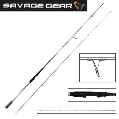 "Savage Gear Salt CCS 7'6"" 0 - 25 gr"