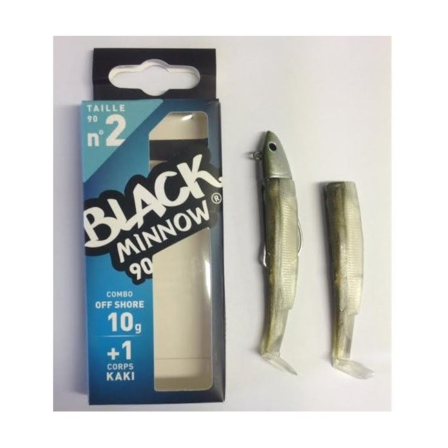 Fiiish - Black Minnow 90 Combo Off Shore 10gr KAKI