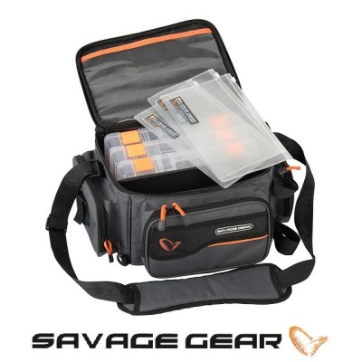 Savage Gear -  System Box Bag M
