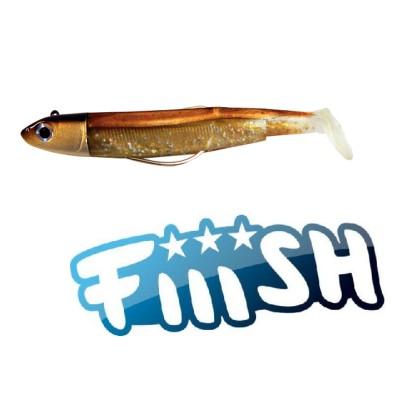 Fiiish - Black Minnow 90 Combo Off Shore 10gr BROWN BACK