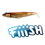 Fiiish - Black Minnow 90 Combo Off Shore 10gr BROWN BACK