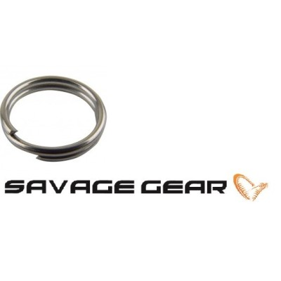 Savage Gear - Stainless Splitring 7mm