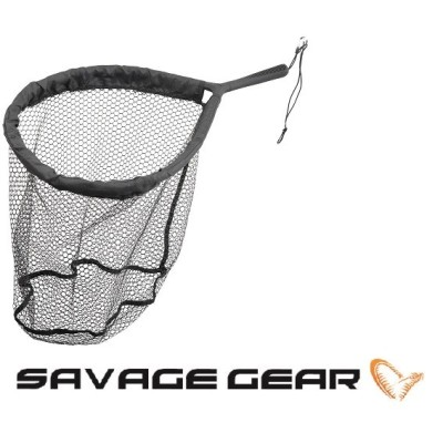 Savage Gear Pro Finezze Rubber Mesh Net L