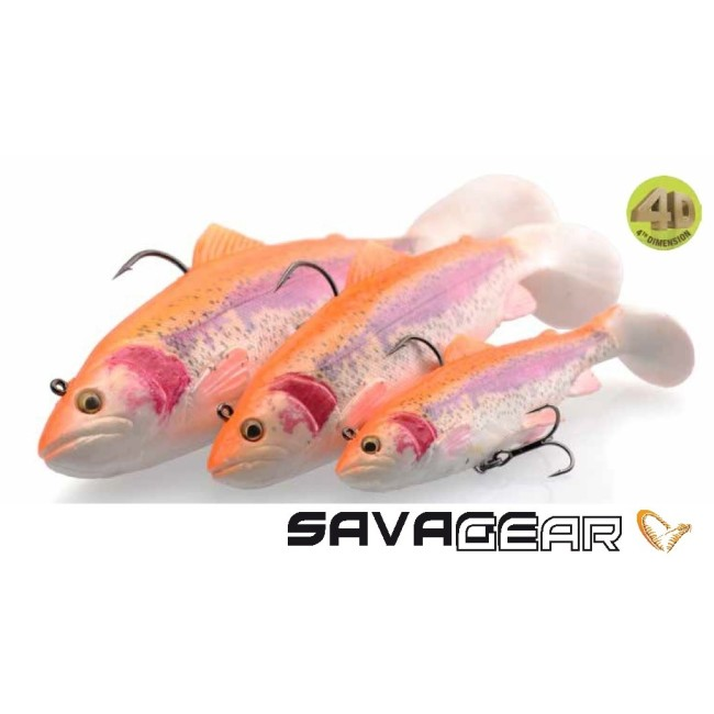 Savage Gear 4D Rattle Trout Shad 20.5cm