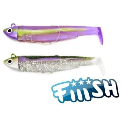 Fiiish - Black Minnow 90 Combo Search 8g Green Morning - Purple Impact