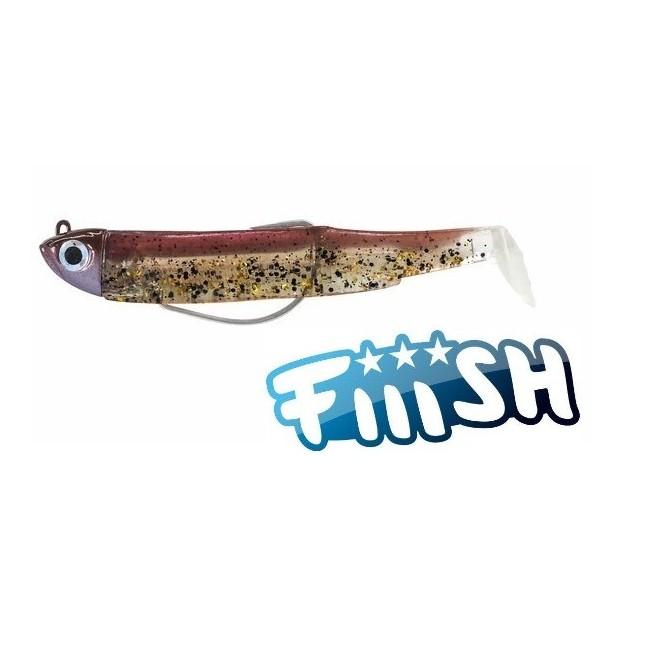 Fiiish - Black Minnow 120 Combo Shore  12gr WINE GLITTER