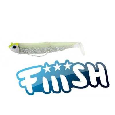 Fiiish - Black Minnow 120 Combo OFF Shore 25gr WHITE PHOSPHO