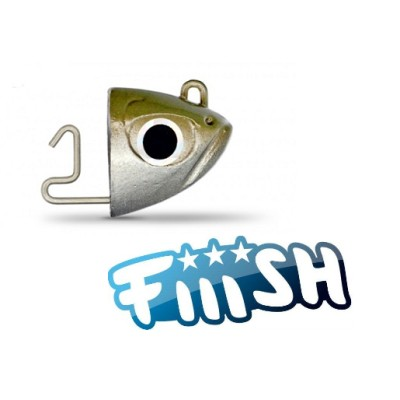 Fiiish - Black Minnow 120 Jig Head 12g Shore