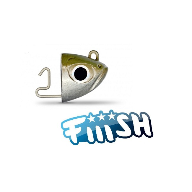 Fiiish - Black Minnow 90 Jig Head 12g Shore