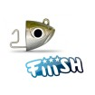 Fiiish - Black Minnow 140 Jig Head 20g Shore