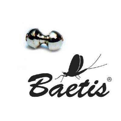 Baetis - Clessidra argento 5mm