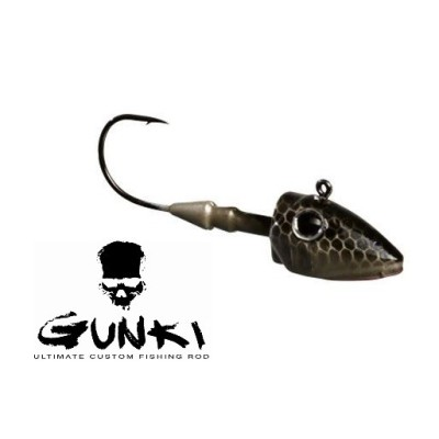 Gunki - G'Slide 7gr 2/0 Natural Black/Silver