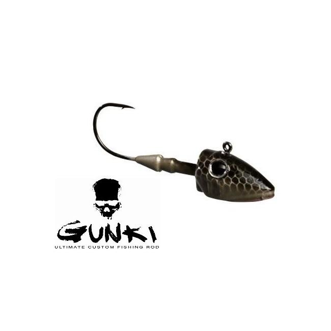 Gunki - G'Slide 7gr 2/0 Natural Black/Silver
