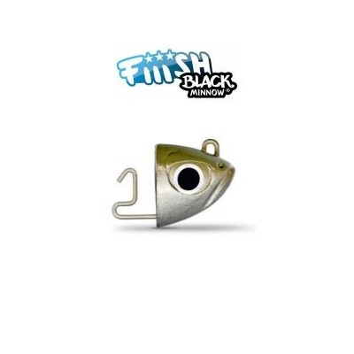 Fiiish - Black Minnow 70 Jig Head 12g Extra Deep