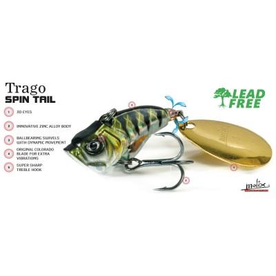 Molix - Trago Spin Tail 1/2oz