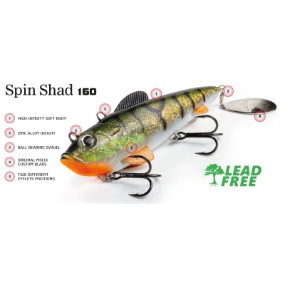 Molix - Spin Shad 160 160gr