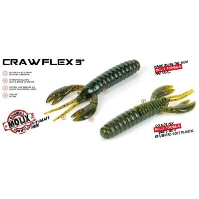 """Molix - Craw Flex 3"""""""