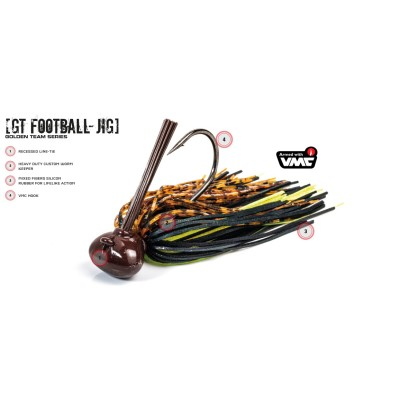 Molix - GT Football Jig 3/8oz