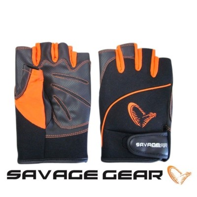 SavageGear Protec Gloves