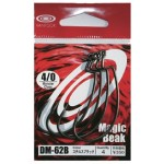 Vanfook Offset Worm Hook DM-62 Stealth Black