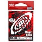 Vanfook Offset Worm Hook DM-52 Stealth Black