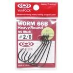 Vanfook Offset Worm Hook WORM 66B